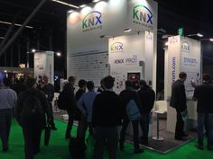 KNX Association booth at ISE2014 in Amsterdam fully crowded!!