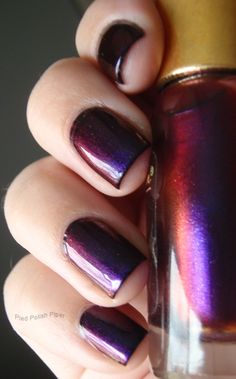 Sally Hansen Nail Prisms - Burgundy Orchid
