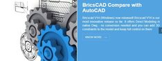 BricsCAD is a low cost DWG CAD software with all good features will add value to your work without putting any unwanted burden on your pocket.