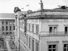 Ruine des Neuen Museums Berlin DDR 1965