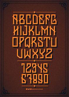 Banten Unfamous Typefaces on Behance