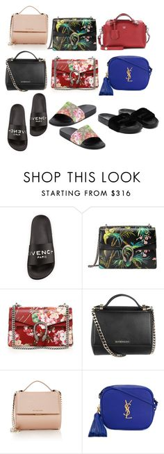 """""""Trending Topics"""" by taisha96 on Polyvore featuring Givenchy, Gucci, Yves Saint Laurent and Fendi"""