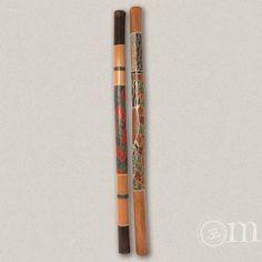 Didgeridoo – bunt bemalt – 115 cm Didgeridoo, Home Living, Mindfulness, Consciousness