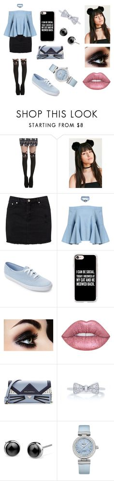 """Random"" by silvermoon999 ❤ liked on Polyvore featuring Hot Topic, Urban Outfitters, Keds, Casetify, Karl Lagerfeld and OMEGA"
