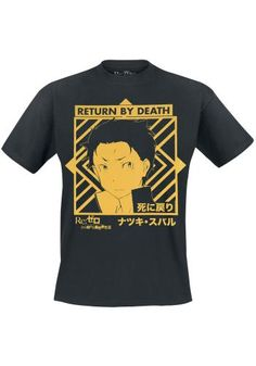 Return By Death - T-shirt van Re:Zero