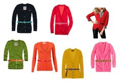 I am all about belted cardigans, very finished look and so flattering for my shape!
