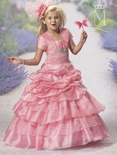Discover the best and unique wedding Dresses from Mary's bridal collection. Choose your dream bridal wedding dresses from the wide variety of styles, fabrics, necklines, silhouettes and many more. Kid Dresses, Kids Party Wear Dresses, Flower Girl Dresses, Little Girl Princess Dresses, Little Princess, Bridal Wedding Dresses, Bridesmaid Dresses, Girl Fashion, Fashion Dresses