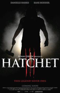 hatchet 3 movie poster - Google Search