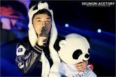 So handsome panda Seungri
