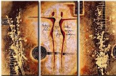 3 Pics Large Abstract Modern 100% Hand Painted Oil Painting on Canvas Wall Art Deco Home Decoration (Unstretch No Frame) by galleryworldwide, http://www.amazon.com/dp/B009768PQ4/ref=cm_sw_r_pi_dp_wHdUrb1G1N8DJ