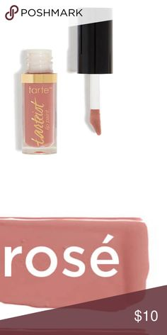 tarteist™ quick dry matte lip paint in rosé Vegan-friendly, this brand defines eco-chic. Whether you want bright and bold or nice and neutral, there's a shade for that. A precision applicator makes even crazy colors easy to apply without drawing outside the lines. The velvet matte finish nails all of our Goldilocks criteria; neither too matte, nor too glossy. An extra coat can change the whole look and pump up the color dramatically, always a nice option when you're going from day to night…