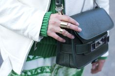 Proenza Schouler PS11 mini classic green