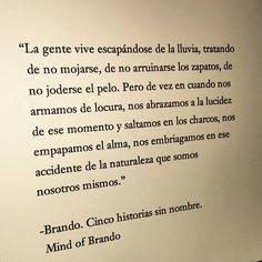 "domeofbooks: ""Brando. Cinco historias sin nombre"""
