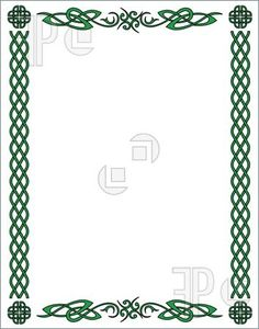 Illustration of Medieval celtic pattern and symbols. Vector design