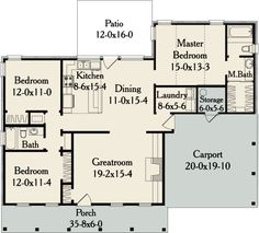 Plan Sutherlin Small Ranch House Plan - 5458 - Better Homes and Gardens