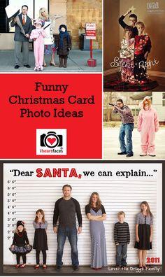 Funny Christmas Card Photo Ideas via iHeartFaces.com. http://www.iheartfaces.com/2012/11/funny-christmas-card-photo-ideas/