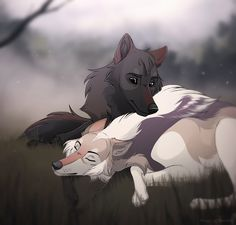 Hexa and Ivan welcome the birth of their pups, if you are interested in adopting the little one between Hexa's paws, go here: tazihound.deviantart.com/art/h… Hexa doesn't have her injur...