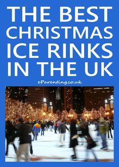 The best Christmas ice skating rinks in the UK for Where to go ice skating near you indoors or outdoors at a Christmas ice rink. Christmas Ice rinks often include festive shopping, food and drink and lots of other Christmas fun. Christmas Fun, White Christmas, Xmas, Skating Rink, Outdoor Ice Skating, Family Days Out, About Uk, Family Movies, Skate
