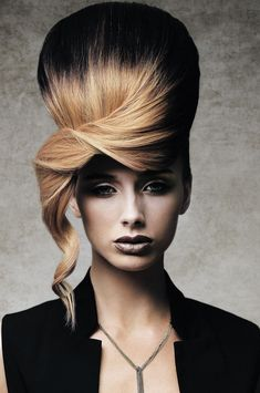 Hair: Keith Kane at Keith Kane Hair International Belfast. Modern Hairstyles, Creative Hairstyles, Up Hairstyles, Angelo Seminara, Competition Hair, Editorial Hair, Beauty Editorial, Avant Garde Hair, Runway Hair