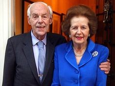 Margaret Thatcher: Sir Denis 'contemplated divorce' after he suffered a nervous breakdown in Margaret Thatcher, The Iron Lady, Premier Ministre, Nervous Breakdown, Famous Couples, Prime Minister, Girl Power, Divorce, Feminism