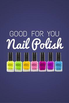 Good for You Nail Polish: Vegan Polish and Formaldehyde Free Options