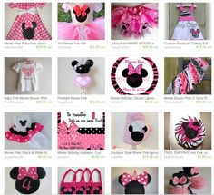 minnie mouse zebra printable party package | ... www.etsy.com/treasury/MTkyMzEwMDl8MjI2ODA5NjY3Mg/pretty-in-mouse-pink