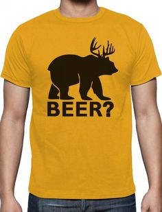 Bear Deer BEER Funny Christmas Gift T-Shirt Xmas size S-XXL About the tee Our designs on the t-shirts are printed by us on to High quality t shirts for the Funny Christmas Gifts, Christmas Ideas, Xmas, Beer Funny, Beer Humor, High Quality T Shirts, Deer, Mens Tops, Design