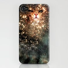 A CAT IN A GALAXY!!! loving it being oh my phone so hard! bday present from RD!