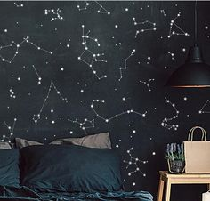 As a laser light novice, as well as astronomy lover, you may have heard simple Nursery Decor, Bedroom Decor, Star Bedroom, Wall Designs For Bedroom, Night Skies, Wall Murals, Map Wall Art, Kids Room, Decoration