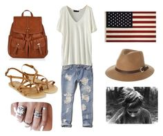 """casual..!!"" by neha-barangali on Polyvore featuring Abercrombie & Fitch, Accessorize, Monsoon and Rusty"