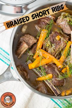 Civilized Caveman's Weekly Meal Plan (04/10/2015): Braised Short Ribs | Civilized Caveman