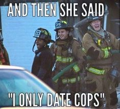 Firefighter Memes, Female Firefighter, Volunteer Firefighter, Firefighters, Divorce Humor, Dating Humor, Finding Nemo Coloring Pages, Ems Humor, Funny Memes