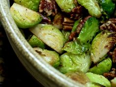 Sweet 'n' Tangy Brussels Sprouts