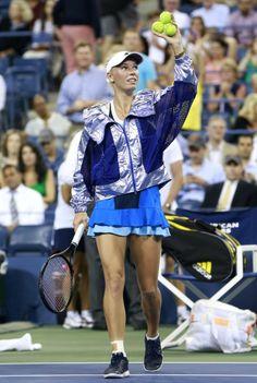 Caroline Wozniacki - 2013 US Open in NYC August #WTA #Wozniacki #USOpen Tennis Association, Caroline Wozniacki, Tennis Fashion, Us Open, Nyc, Beautiful, Women, New York, Woman