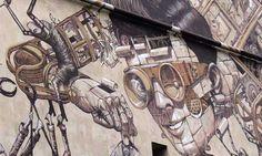 Arte urbano en Nueva Zelanda