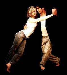 dancers in jeans