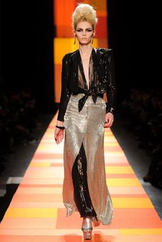 Jean Paul Gaultier Spring 2013 Couture Fashion Show - Andrej Pejic (NEW MADISON)