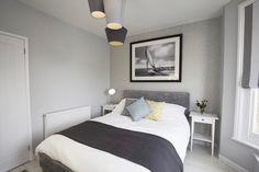 Grey Bedroom Scandinavian Design Neutral