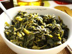 Soul-Food Style Frozen Collard Greens Recipe