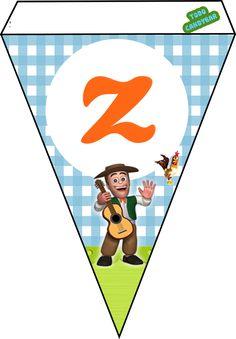 Candy Bar de La Granja de Zenon para Descargar e Imprimir Gratis | Todo Candy Bar Farm Animal Cakes, Farm Animals, Architecture Events, Mickey Mouse, Playing Cards, Baby Shower, Games, Birthday, Happy