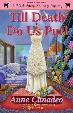 The fourth in the charming knitting mystery series that is sure to hook cozy…