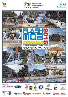 Flash Mob de Scrima, in parcul Palas