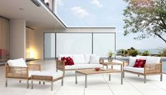 Chic Outdoor Furniture. Year round outdoor living at a fraction of the cost of what you'd pay elsewhere.