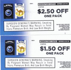 Kool cigarette coupons by mail