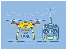 quadcopter illustration