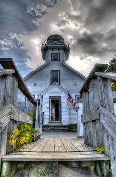 Old Mission Lighthouse, MI, USA