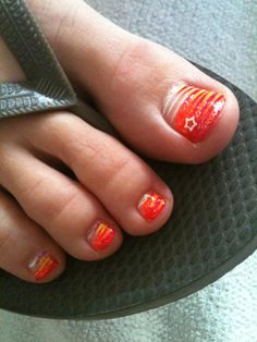 Summer fun nail design by Tish