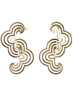 Wouters & Hendrix wavy earrings