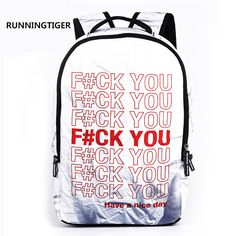 Mens canvas bag Girl School Bags For Teenagers backpack print anime shoulder  travel bags fashion backpacks 33a8b7667086d