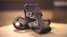 Shoes that grow with you! New adjustable strap design helps parents in poverty keep shoes on their children's feet.